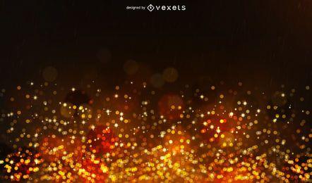 Fondo de bokeh de fuegos artificiales de brillo