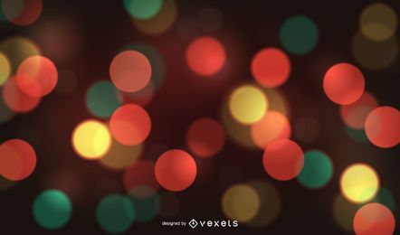 Multiple color bokeh background