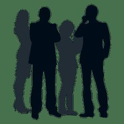 Group people silhouette group people silhouette