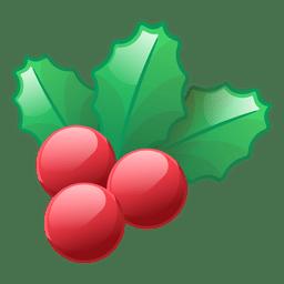 Shiny mistletoe icon