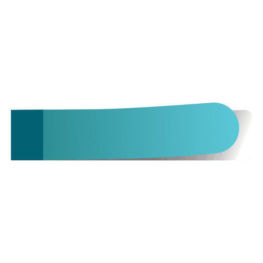 Blue sticky note page marker Transparent PNG