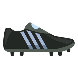 Black football boot icon