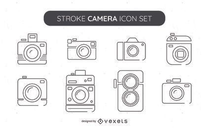 Big collection of camera icons
