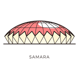 Samara football stadium logo