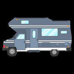 Camper van vector