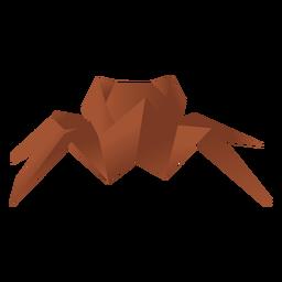 Origami paper spider