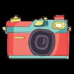 Rangefinder camera cartoon
