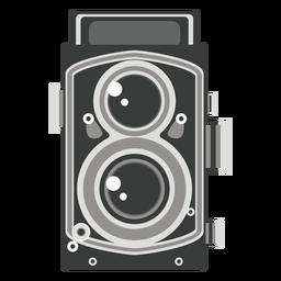 Gráfico de la cámara de doble lente