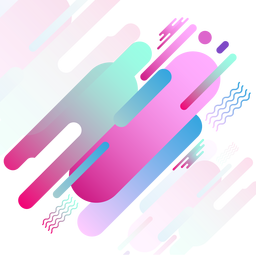 Abstract pink geomteric background