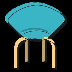 Designer chair icon
