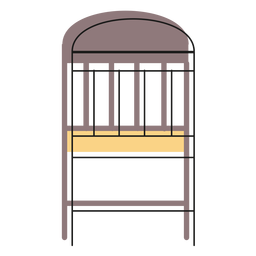 Simple chair icon