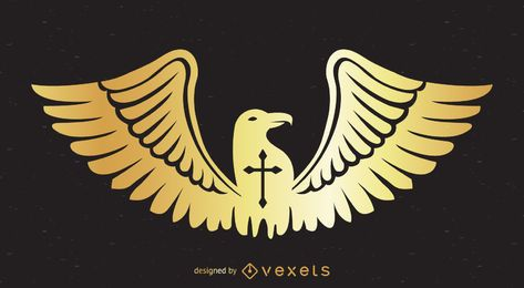 Eagle badge design