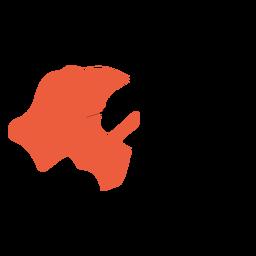 Hidalgo state map