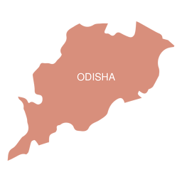 Odisha state map