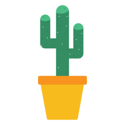 Office cactus clipart