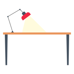 Office desk clipart