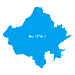 Rajasthan state map