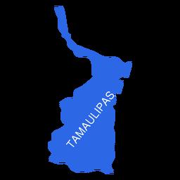Tamaulipas state map