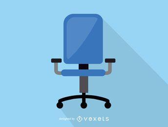 Icono de la silla de oficina