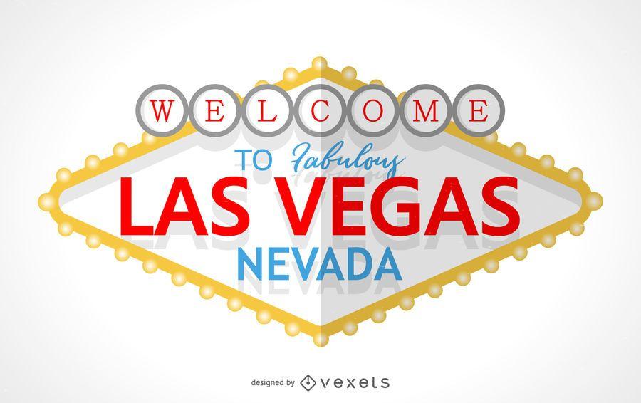 Bienvenido al letrero de Las Vegas
