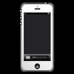 Maqueta del teléfono inteligente iPhone de Apple