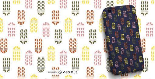 Patrón ornamental colorido
