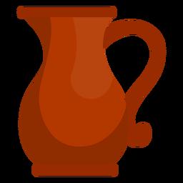 Hanukkah oil jug icon