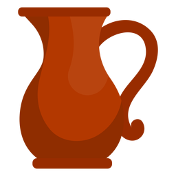 Icono de jarra de aceite de Hanukkah
