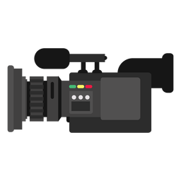 Mobile news camera illustration