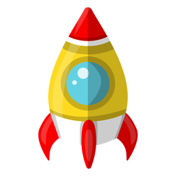 Space ship illustration