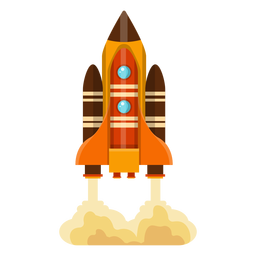 Space shuttle illustration