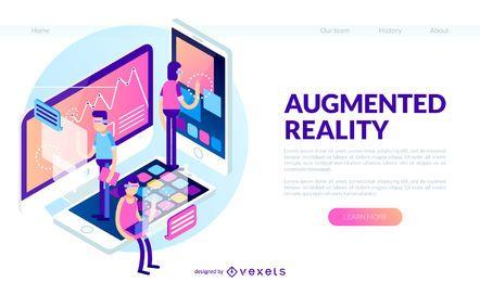 Banner de realidad aumentada