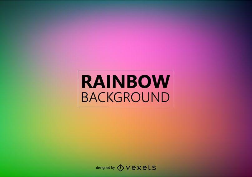 Fondo borroso del arco iris
