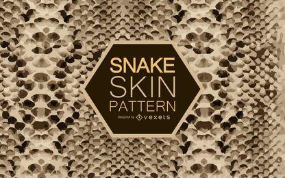 Patrón sin fisuras de la piel de serpiente