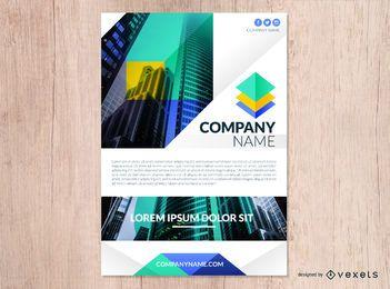 Diseño de flyer de la compañía