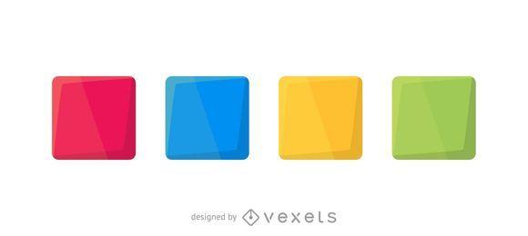 Colorful squares set