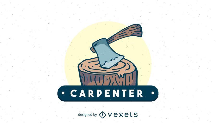 Carpenter logo template