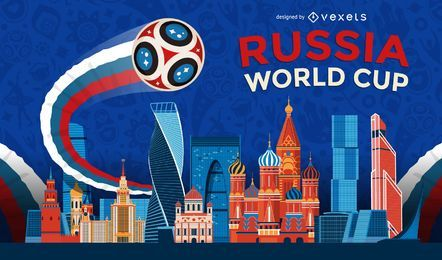 Russia 2018 World Cup background