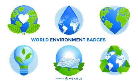 Insignias del entorno mundial