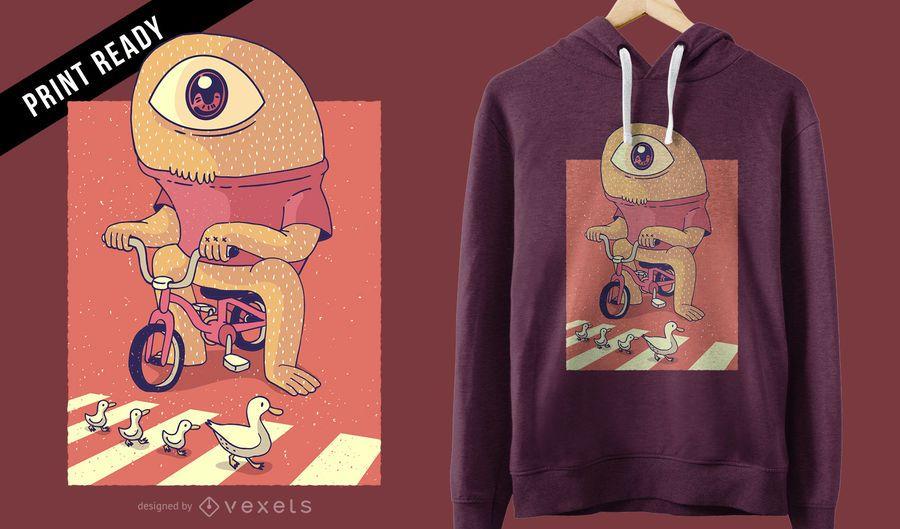 Cyclops t-shirt design