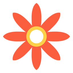 Flower hippie element