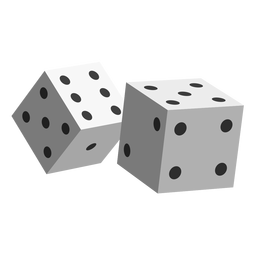 Gambling dice icon