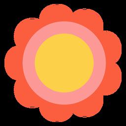 Hippie flower element