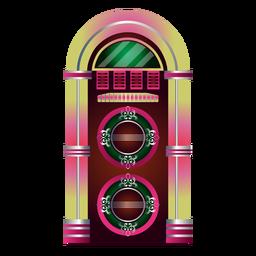 Music jukebox clipart