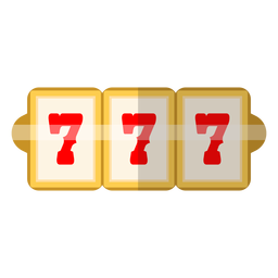 Three sevens slot icon