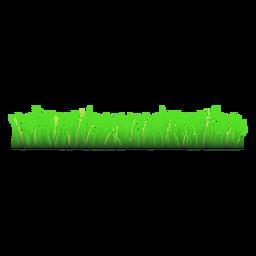 Grass meadow illustration