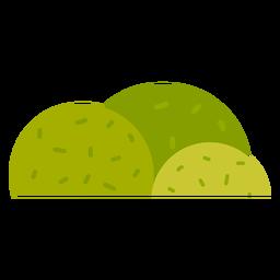 Icono de arbusto de parque