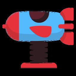 Rocket spring rider icon