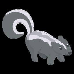 Dibujos animados de animales Skunk