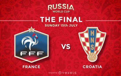 Partido final de Rusia World Cup